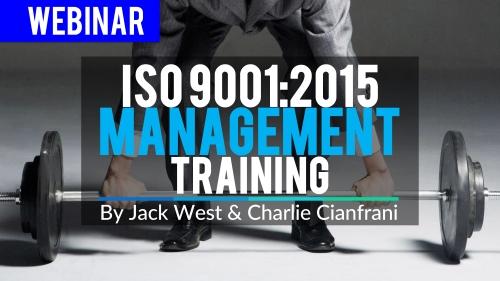 ISO 9001-2015 management Training