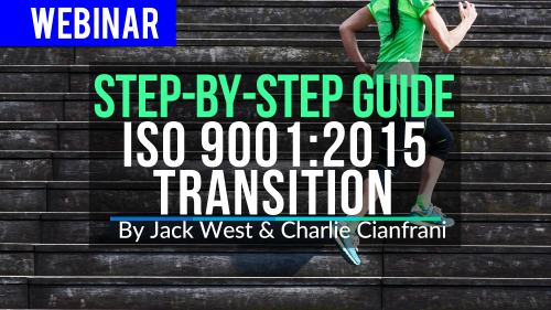 Step-By-Step Guide to ISO 9001-2015 Transition