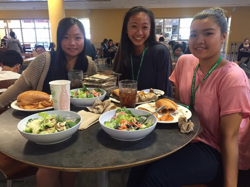 Summer Academy lunch aug 5 2016