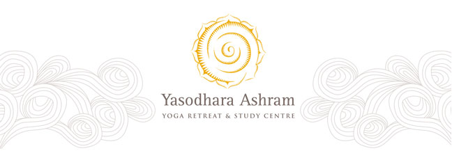 Yasodhara Ashram Header with Logo