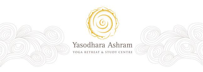 Yasodhara Ashram Header with Logo