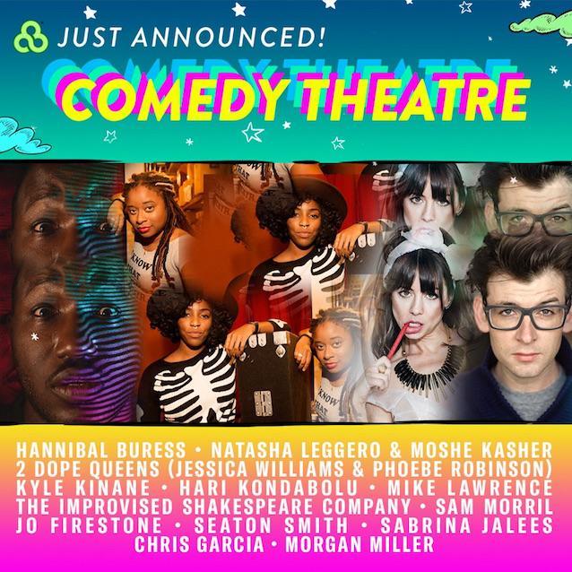 2017 Bonnaroo Comedy Theatre