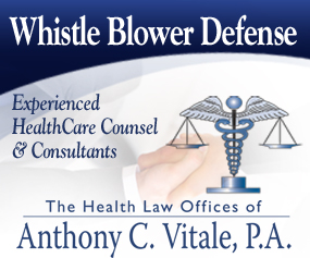 Vitale Whistle Blower Defense