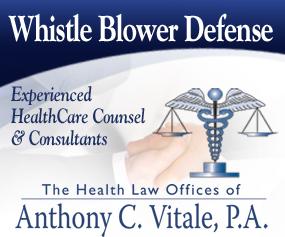 Vitale Whistle Blower Defense