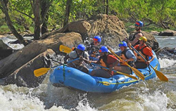 2018 rafting trip with Mayor Stoney