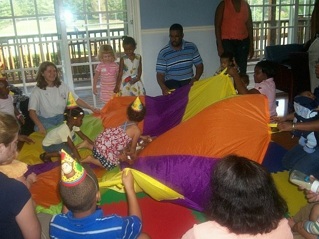 Birthday Party fUn at Parent Child U with Miss Tracey