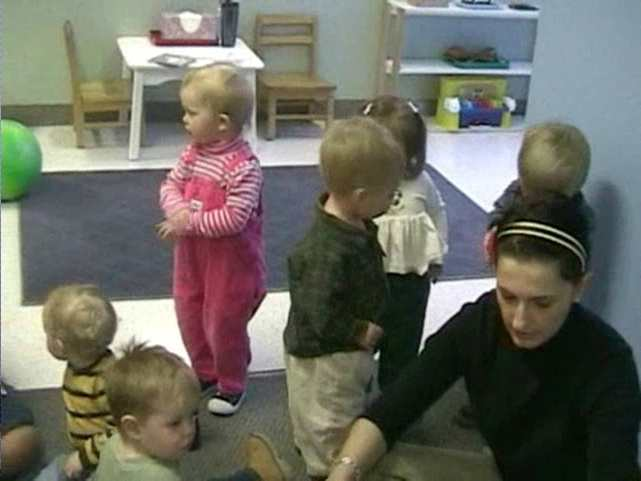 Toddler asks for BALL by signing instead of crying or grabbing!