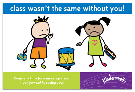We miss you! Come back for Make-Up Classes at Parent Child U!