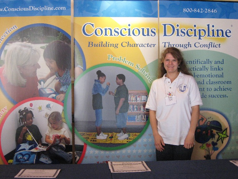 Miss Tracey at Becky Bailey's Conscious Discipline Training!