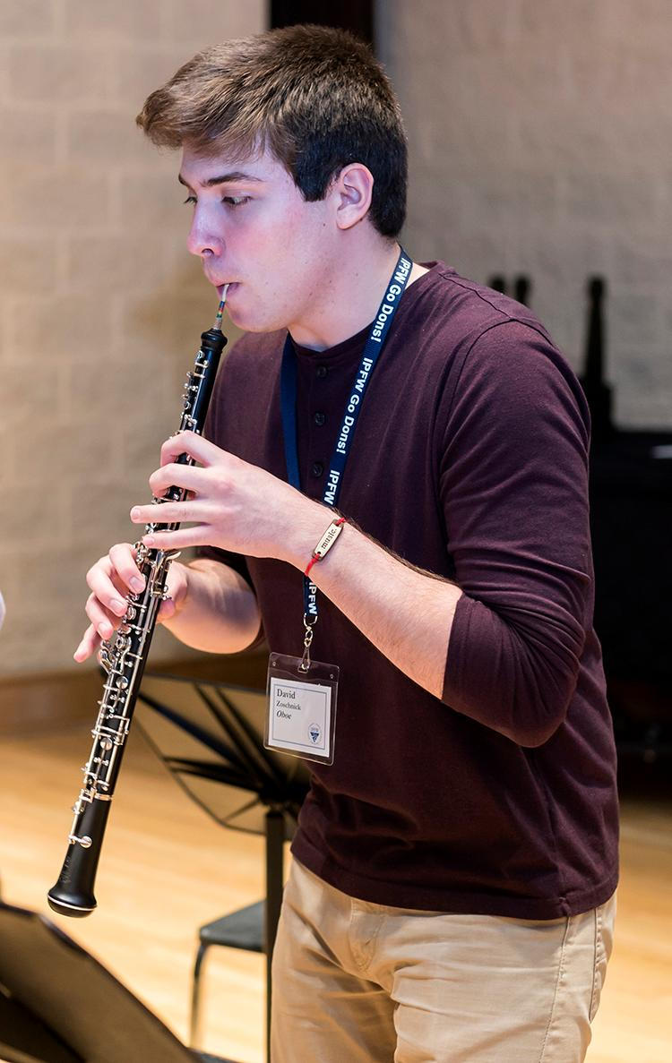 Woodwind Camp Oboe Player 2016