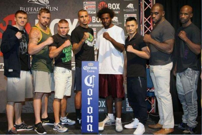 Final weights, quotes & photos for Friday's Shobox: The New Generation Quadrupleheader, live on sho at 10p ET/PT