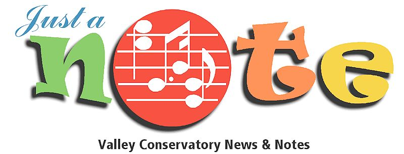 Valley Conservatory Newsletter