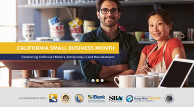 California Small Business Month