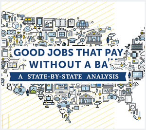 Good Jobs that Pay Without a BA