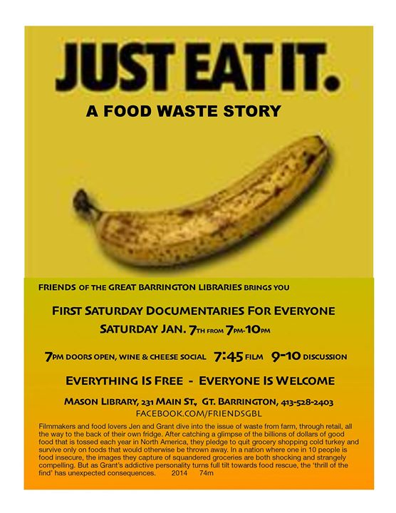 Just Eat It. A Food Waste Story
