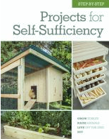 projects for self-sufficiency book cover