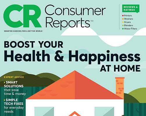 Consumer Reports Magazine Cover