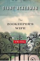 Zookeepers Wife book cover