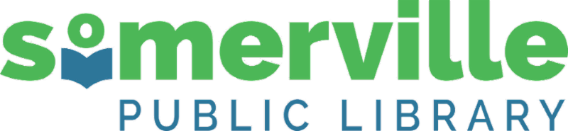 somerville public library logo in color