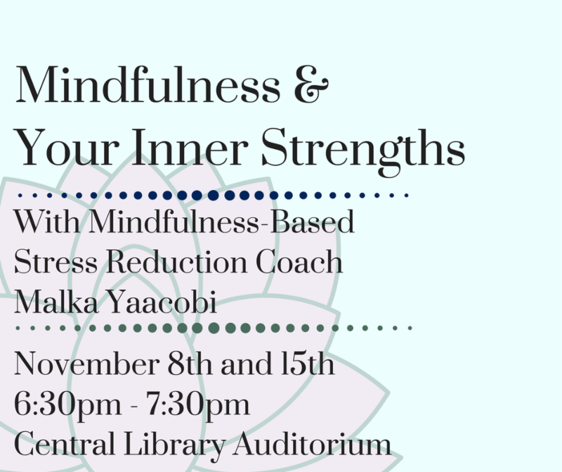 Mindfulness Series Flyer