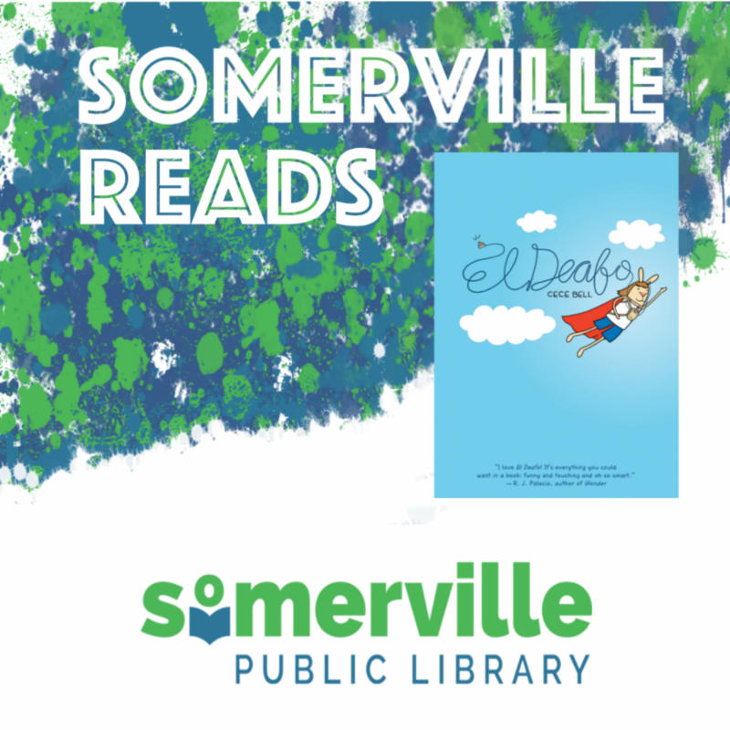 Somerville Reads El Deafo Book Cover