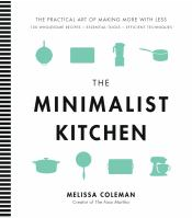 minimalist kitchen book cover