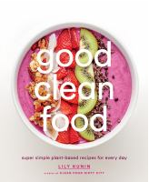 Good Clean Food Book Cover