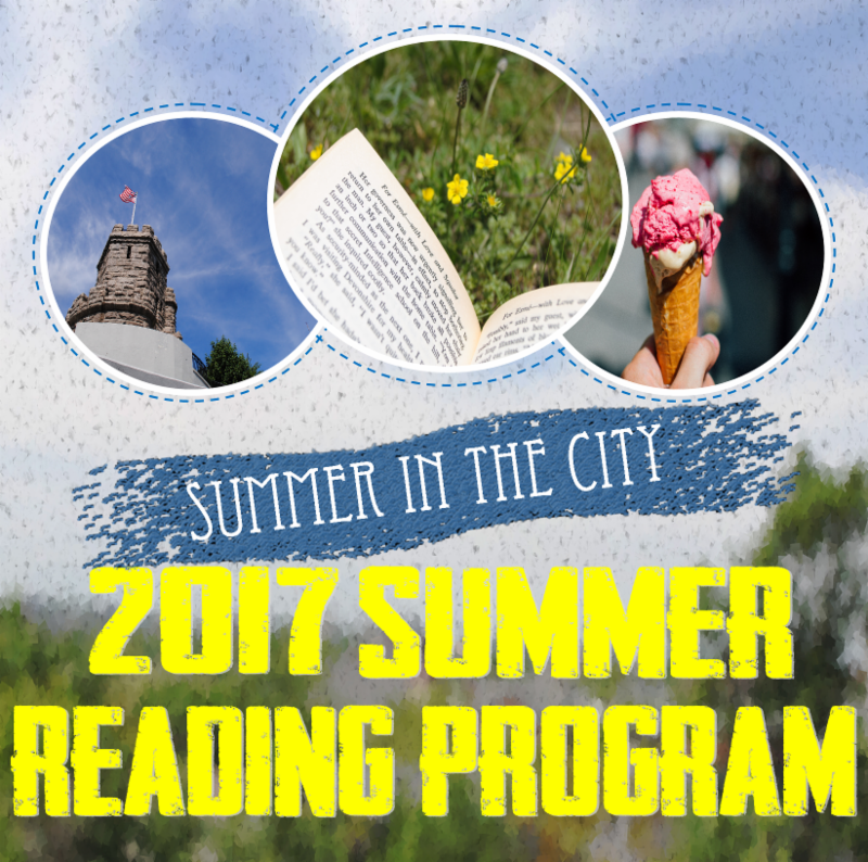 2017 Summer Reading Program Flyer