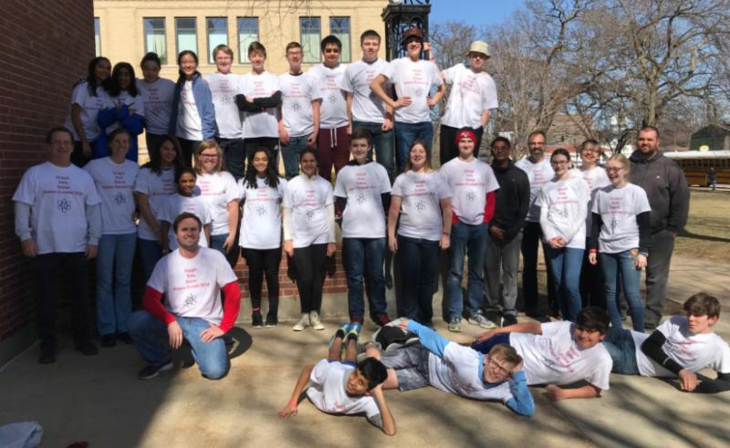 Holmes Junior High Grabbed Both The 2nd Place Trophy And A 5th Finish In Iowa Science Olympiad Contest Was Held At Coe College Cedar