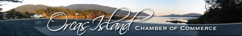 Orcas Island Chamber of Commerce Banner