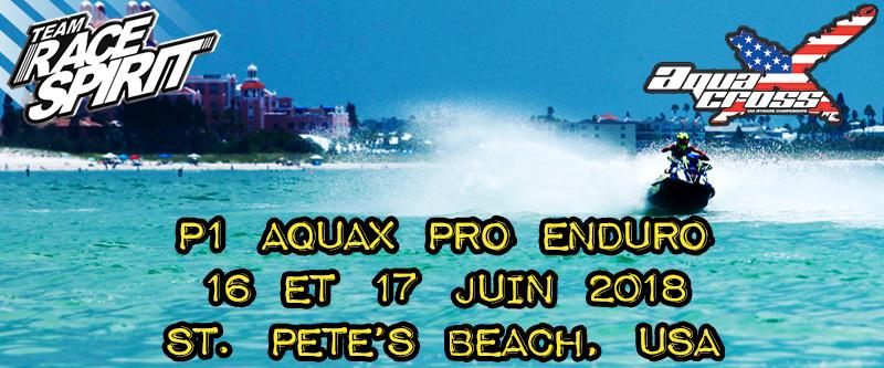 P1 AquaX Pro Enduro St. Pete 2018
