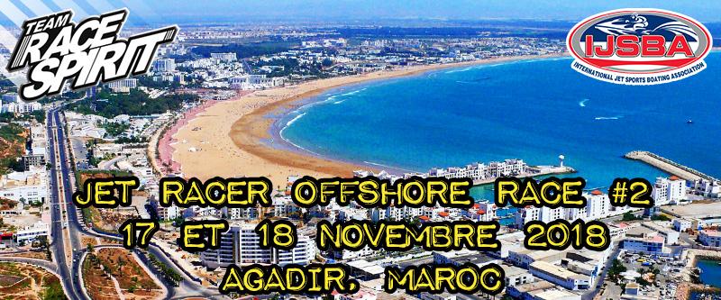 Jet Racer Offshore Morocco 2018