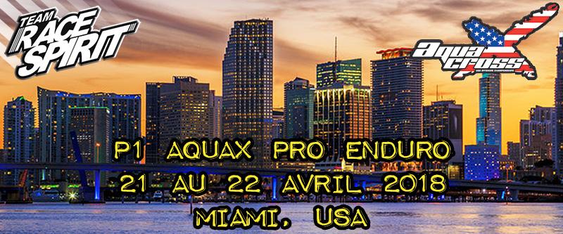 P1 AquaX Pro Enduro Miami 2018