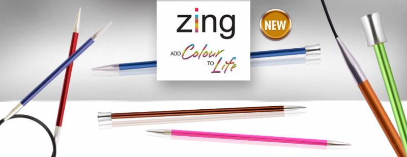 Zing knitting needles