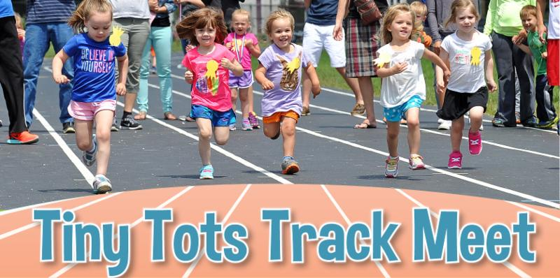 Tiny Tots Track Meet