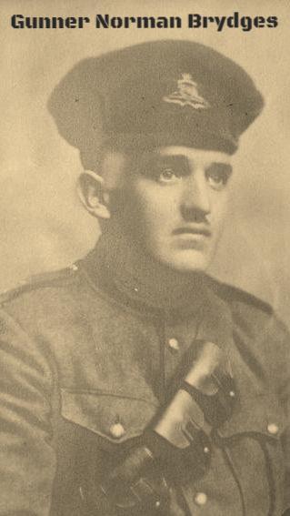Gunner Norman Brydges