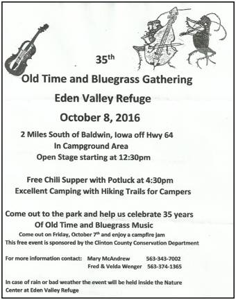 Bluegrass Festival 2016 Eden Valley