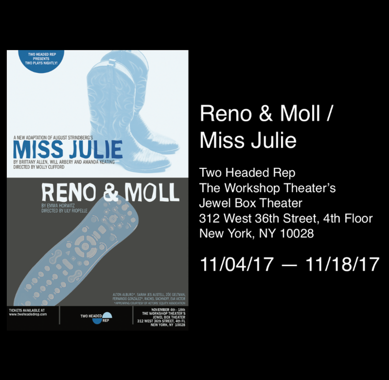 Reno and Moll Miss Julie