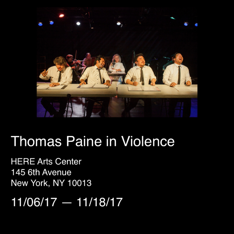 Thomas Paine in Violence