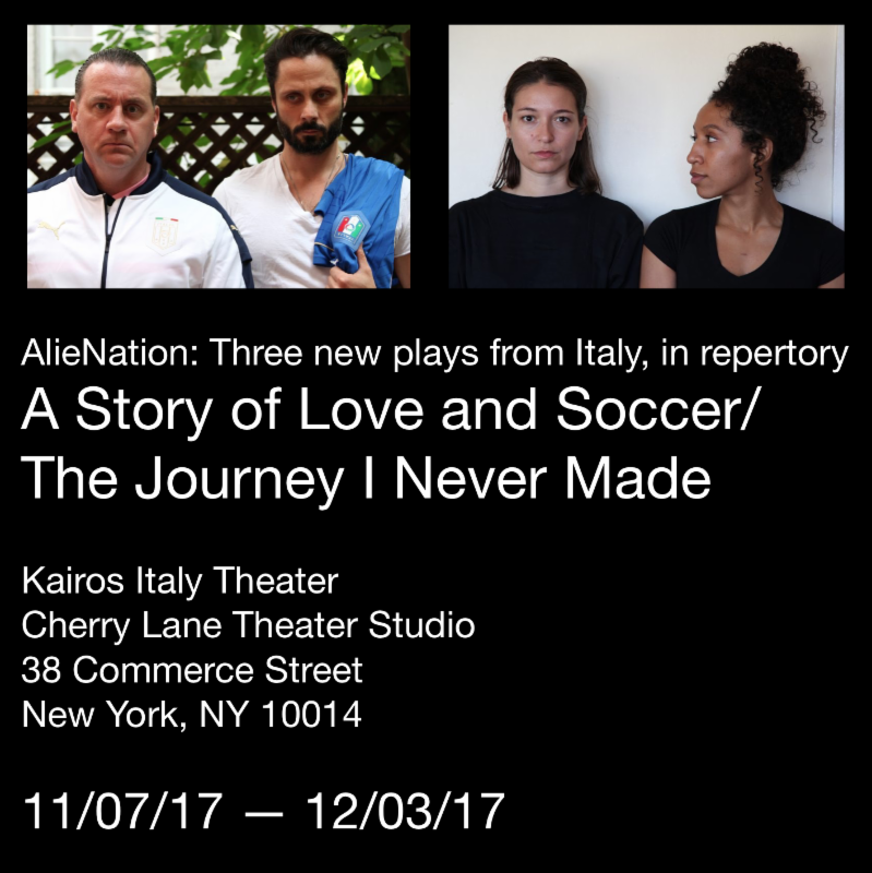 Alienation A story of Love and Soccer The Journey I never made
