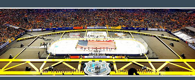 Coors Light NHL Stadium Series 2017