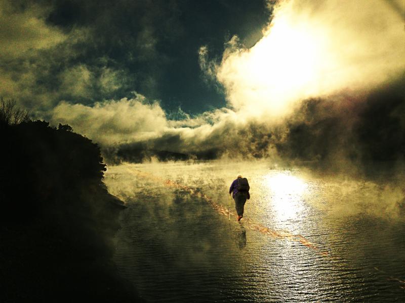 Walking Towards  Heaven