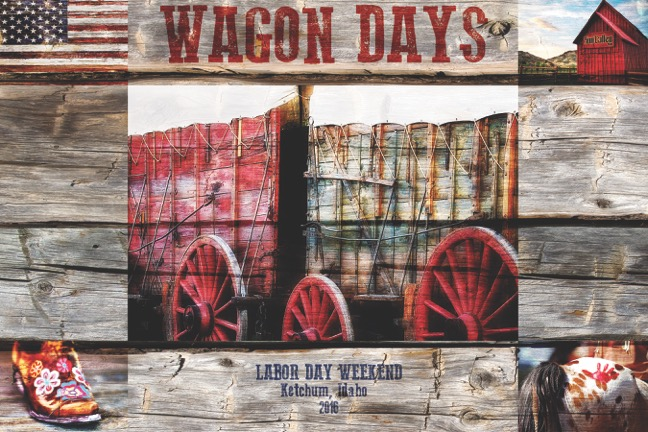Wagon Days Poster 2016