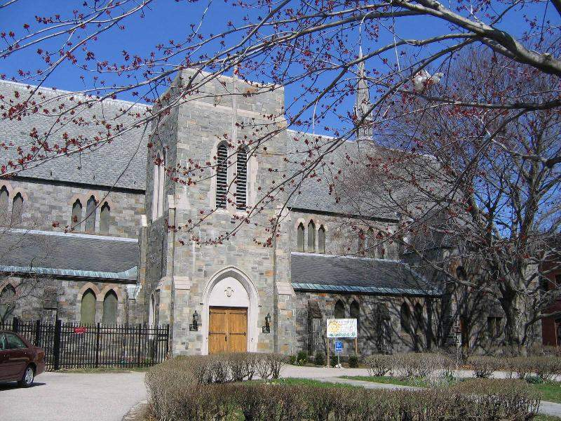 exterior in spring