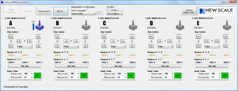 IMAGE - SOFTWARE APPLICATION CONTROL SCREEN