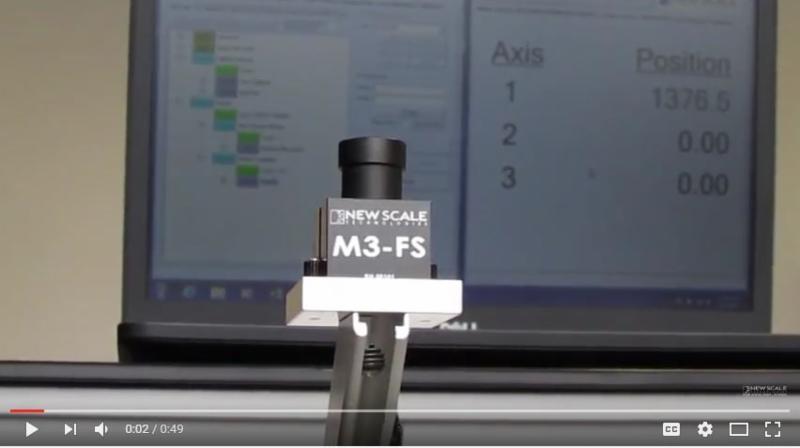 VIDEO - M3-FS focus module demo