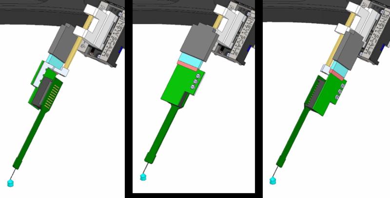 IMAGE - SLIM DESIGN PROBES ROTATE FOR CLOSE SPACING