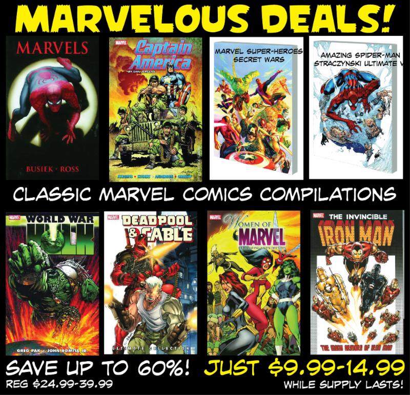 marvel Book Deal