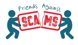Friends Against Scams logo
