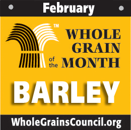 February grain of the month-Barley